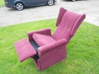 Wingback Recliner Armchair