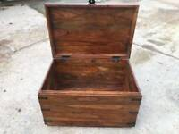 Indian hard wood chest