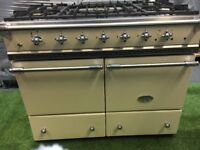 Stunning Lacanche Cluny Range cooker Double oven cream and chrome appliance