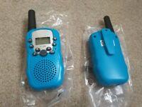 Brand new Walkie Talkies 8 Channel 2 Way Radio Kids Toys Wireless 0.5W PMR446 Long Distance Range