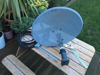 Sky bundle, dish, free sat sky tv boxes, WiFi boxes
