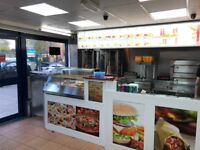 Takeaway Fast Food/Pizza Shop Business For Sale - Residential Area - Main Road Location - Cheap Rent