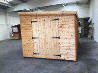 North Street Sheds We supply and fit custom made sheds