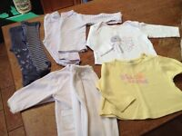 Baby girl 6-9 month small bundle