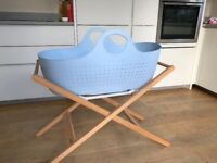 Moba Moses basket and John Lewis stand