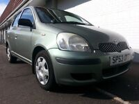 ★ FULL YEARS MOT ★ FULL S. HIST ★ 2003 Toyota Yaris 5dr Hatch VVTi T3 ★ 3 Owners,EXCELLENT CONDITION