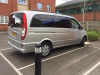 2004 Mercedes Viano 2.1 CDI AUTOMATIC DIESEL MPV 8 SEATER 12 MONTHS MOT AUTO EIGHT SEATS £4500