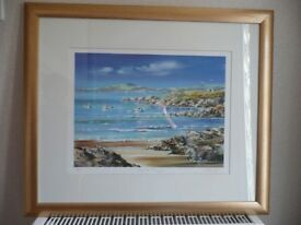 SET OF 4 PICTURES LIMITED EDITION SEA VIEWS