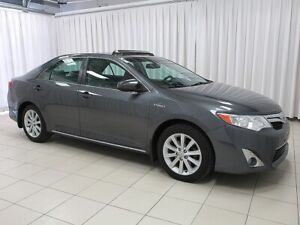 2014 Toyota Camry TOYOTA'S WORLD-RENOWNED HYBRID SYSTEM IN THE L