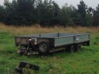 4m / 16ft Ifor Williams double axle trailer