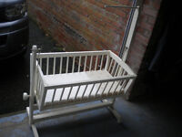 Old handmade crib