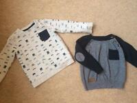 Baby boy clothes - jumpers dressing gown hats 18-24 months, 2 years, 12 Months