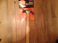 New 8oz claw hammers - Job lot
