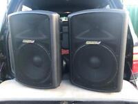 Carlsbro Gamma 15/400 Active Speakers
