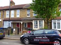 One bed ground floor garden maisonette with a own front door and letterbox suitable for a single or