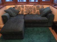 3 Seater Teal sofa
