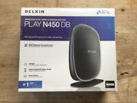 NEW SEALED BOX Belken router N450DB