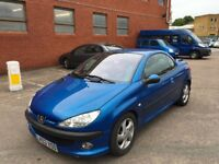 2003 Peugeot 206 CC Automatic Convertible Good Runner with mot
