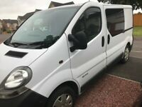 Renault Trafic Campervan Conversion over £1000 of extras included