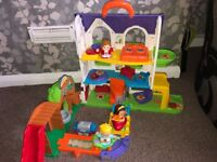 Toot toot vtech family house.