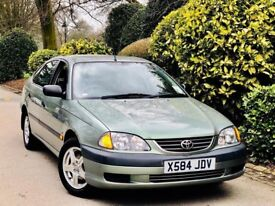 **LOW MILES** TOYOTA AVENSIS 1.8 VVTI VERMONT + FULL 10STAMP HSTRY + 1 FKEEPR + 1YRS MOT + VERY TIDY