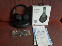 Sony MDR-1000X Noise Cancelling Wireless Bluetooth NFC High Resolution Over Ear Headphones