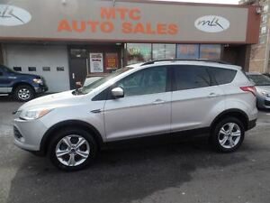 2013 Ford Escape SE, ECOBOOST, AWD, LEATHER, NAV
