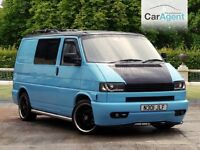 Volkswagen T4 Converted Campervan (1996), Excellent condition, FSH, Rock and Roll bed, TV, DVD!