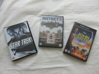 DVDs - Priced per set of 3. Used.