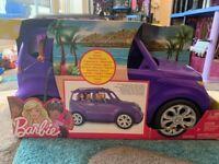 Barbie SUV Purple DVX58 (Brand New)