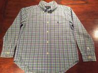 Boys Ralph Lauren long sleeve shirt - 6 Years