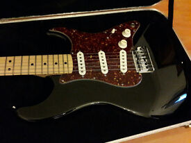 Fender Dan Smith Era American Stratocaster Black 1983 w/OHSC