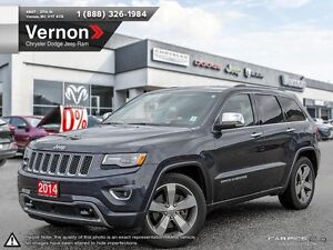 2014 Jeep Grand Cherokee Overland ECO-DIESEL | ADAPTIVE CRUISE