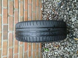 CONTINENTAL TYRE 195 / 55 R16 6M LEFT £ 10 NO TEXTS
