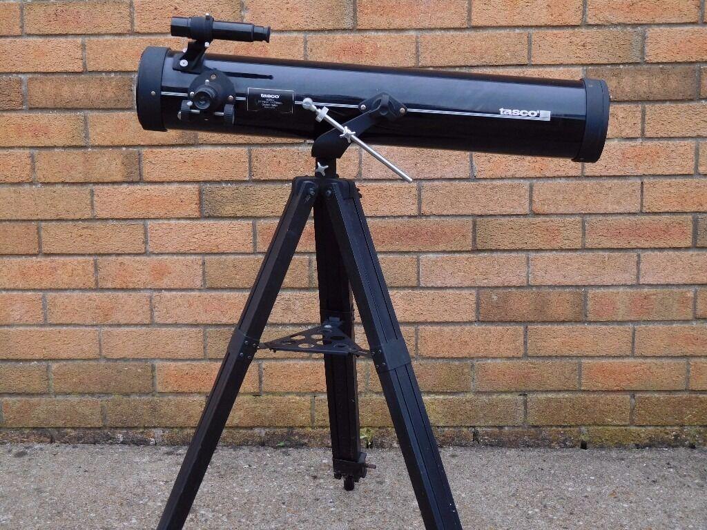 Tasco Telescope And Stand Tasco 302003 Coated Optic In