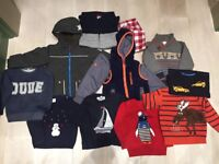 Boy 2-3 years gorgeous winter clothes bundle including a 2 Boden coats & Christmas jumpers!