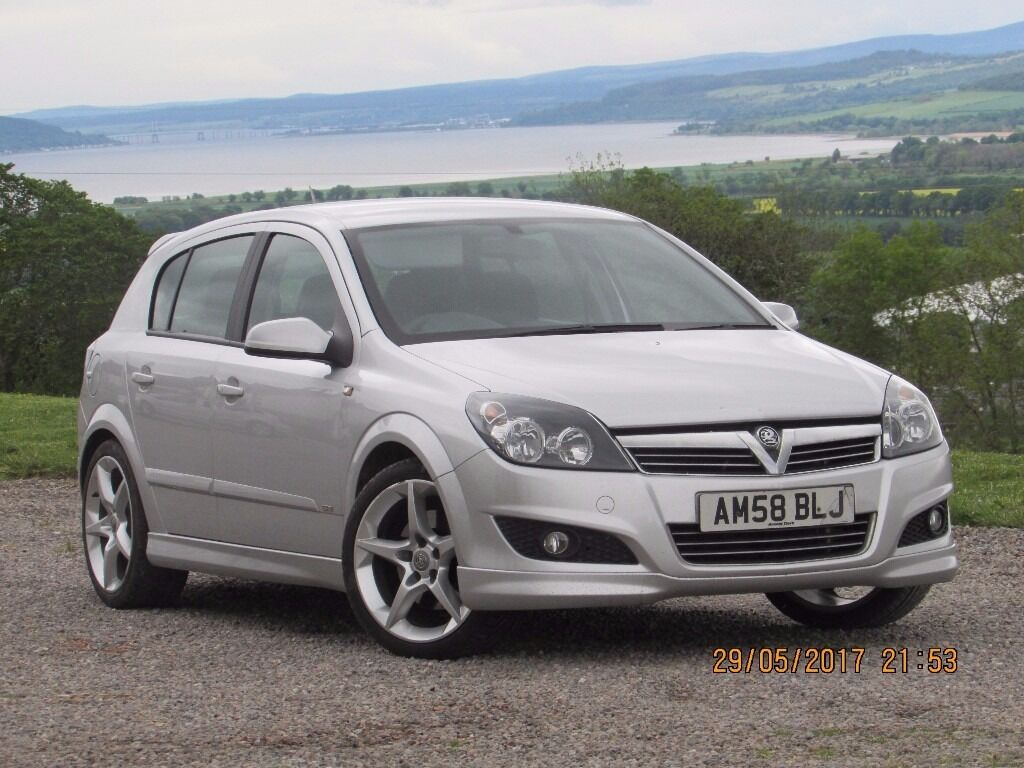 2008 58 vauxhall astra sri cdti 120 diesel 5 door silver. Black Bedroom Furniture Sets. Home Design Ideas