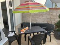 Garden furniture set - brand new