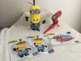 Large minion and ship mega blocks sets