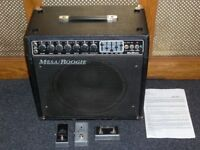Mesa Boogie Mark III simul class valve combo with three footswitches and Electrovoice speaker