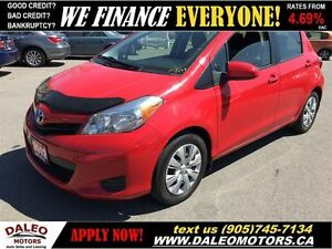 2012 Toyota Yaris LE 1 OWNER 44 KM ECONOMICAL 1.5L