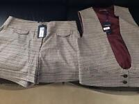 Limited edition, Marks and Spencer shorts and waistcoat