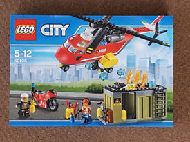 Lego 60108 City Fire Response Unit - Brand New