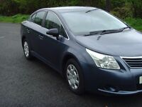 2010 TOYOTA AVENSIS T2 D-4D 6 SPEED MANUAL