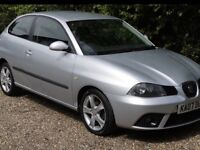 2007 SEAT IBIZA 1.4 SPORT air conditioning, CD player lovely runner 780