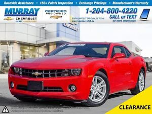 2013 Chevrolet Camaro 2dr Cpe 1LT *OnStar, Remote Start, Satelli