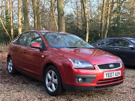 Ford Focus 1.8 Zetec Climate 5dr 2007 Hatchback 58,154 miles Manual 1.8L Petrol