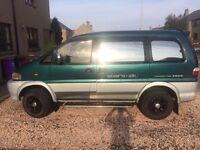 Mitsubishi Delica, Diesel, 8 Seater, Camper, Automatic, 4WD