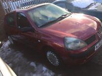 Renault clio 5door 2003