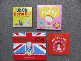 potty training books - NEW